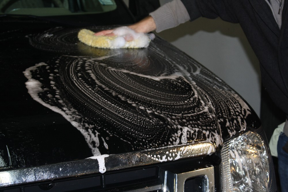 Car Shampoo Application