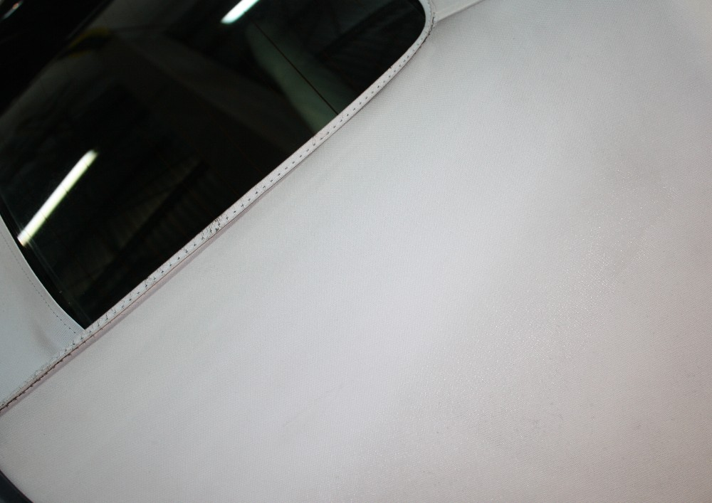 Clean Vinyl Convertible Top